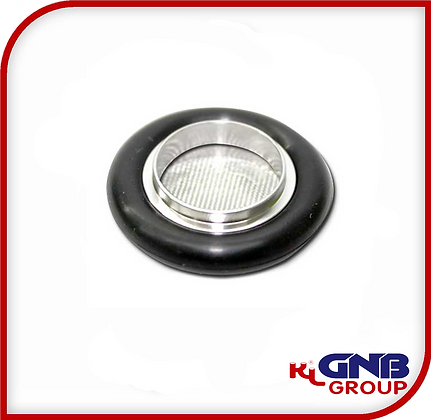 KF Screened Centering Rings with O-Rings