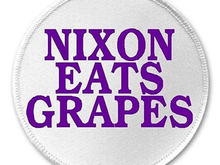 Nixon Eats Grapes