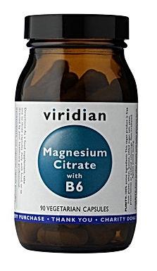 VIRIDIAN, MAGNÉZIUM CITRÁT S B6, 90 TABLETIEK