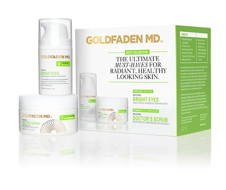 GOLDFADEN MD, BRIGHT EYES + DOCTOR'S SCRUB DUO