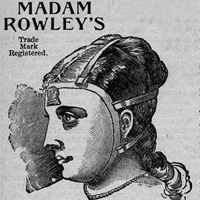Pleťová maska madam Rowley