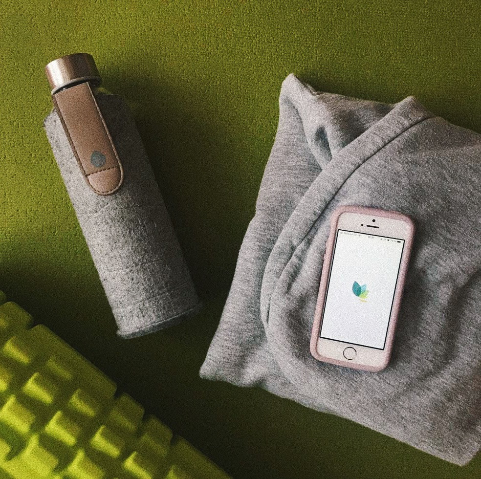 MyEqua fľaša, Pela case a meditácia