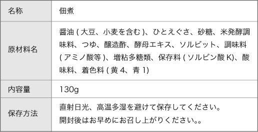 青さ海苔瓶佃煮商品詳細