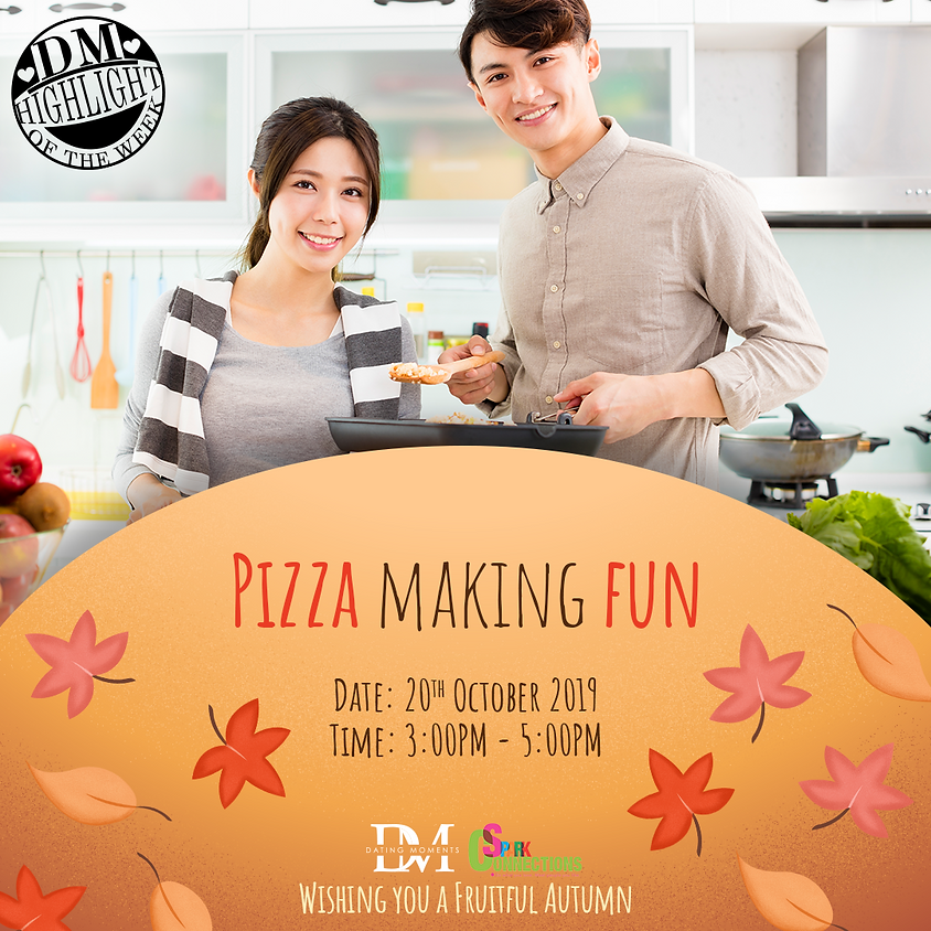 DM Highlight of the Week! PIZZA Making FUN (50% OFF)