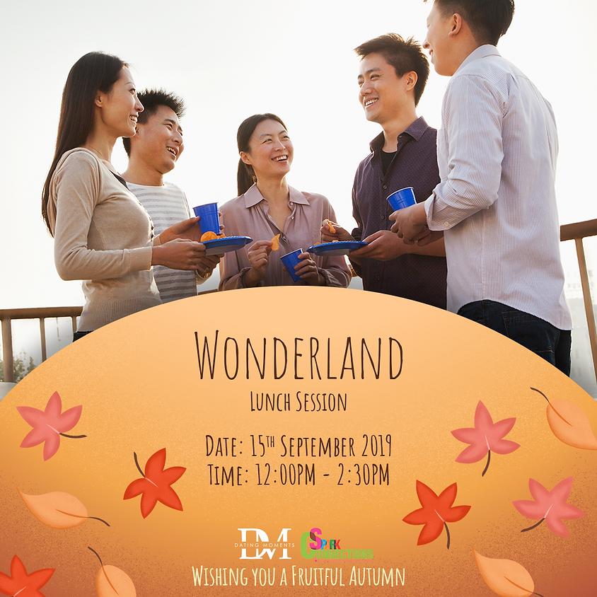 Wonderland Lunch Session (50% OFF)