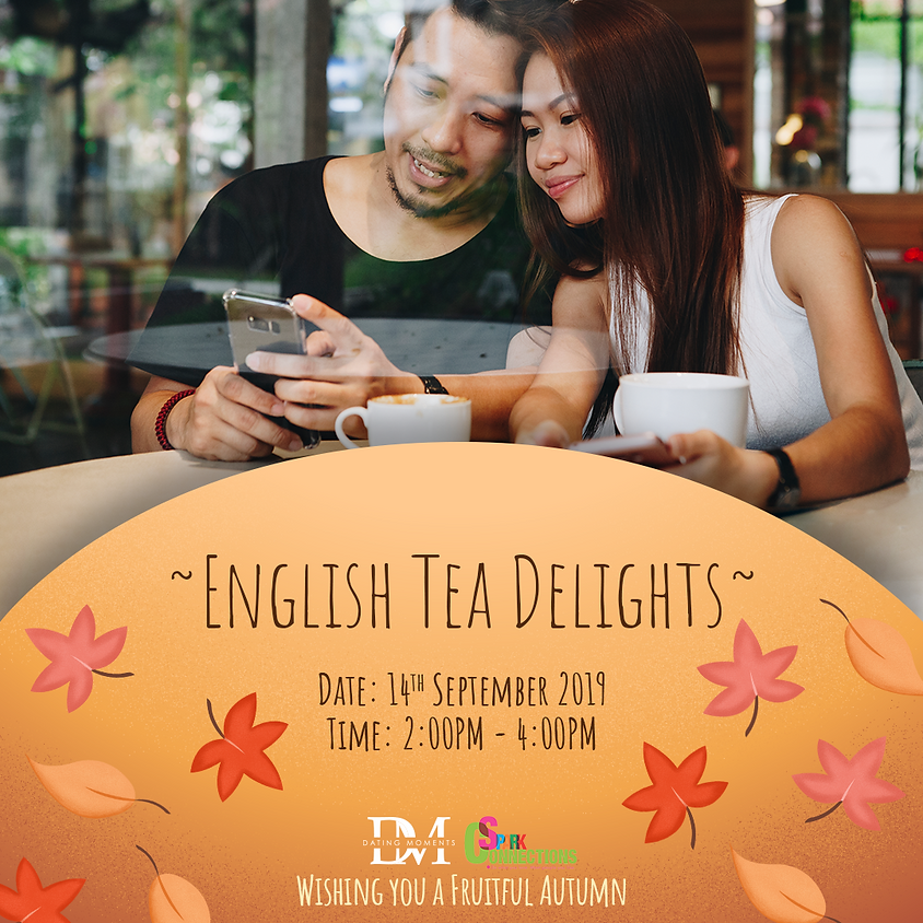 (CALLING FOR LADIES!) English Tea Delights (50% OFF)