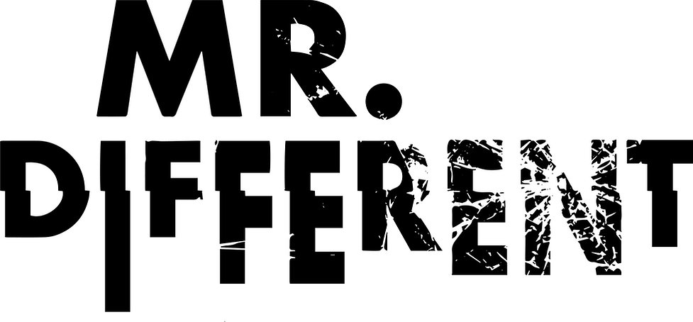 Mr Different logo: a new play with music