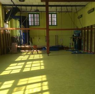 La sala de gimnasia