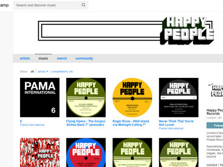 Happy People Records Give Away!