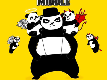 New Big Fat Panda Single - Man In The Middle