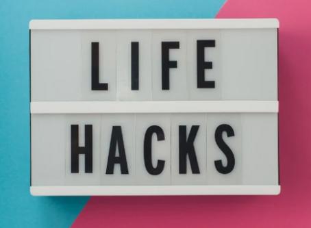 Life Hacks: DIY Life Tips for Hacking through Life