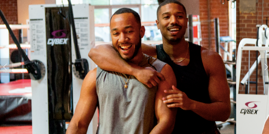 Omaze workout with Michael B Jordan while supporting Big Brothers Big Sisters