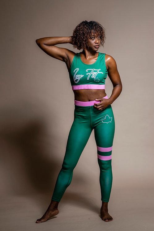 Ivy Fit Sport Bra/Tights Set