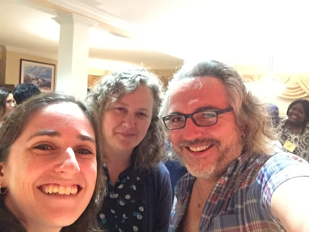 Jen Hurley, Carrie Partch and Luis Larrondo at 2017 GRC Chronobiology