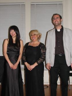 Tomoko, Aimee, and Michael