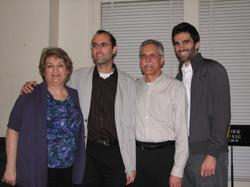 Carol, Michael, Dennis, and Jonathan