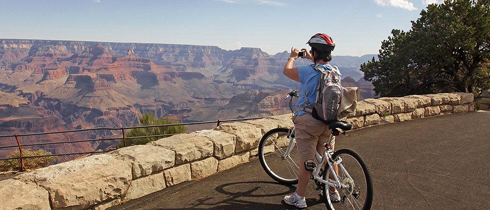 大峽谷單車遊(3月至11月)Grand Canyon Hermit Road Tour  Mar/05~ Nov/05