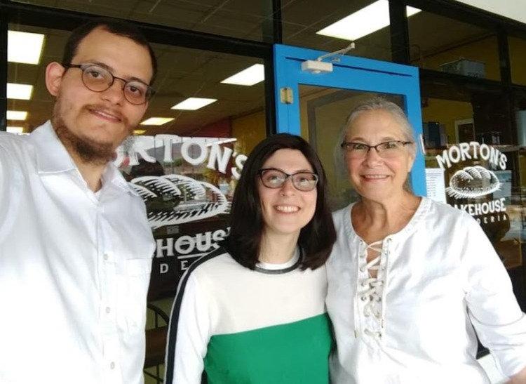 * Rabbi Yakov and Hana Poliwoda, the new propriotors of Morton's Bakehouse