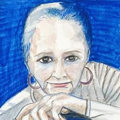 Self Portrait-Blue