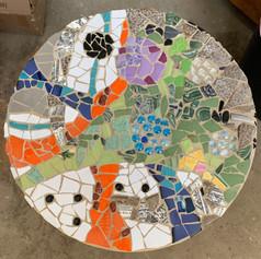 "Mosaic Stepping Stone 18"""