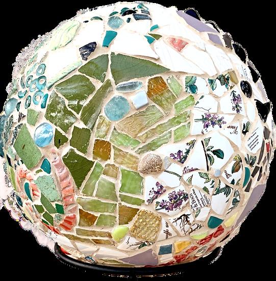 """""""Small World 3""""  Mosaic Sculpture"""