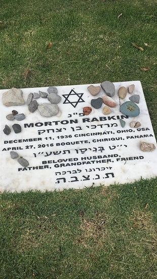 Gravestone of Morton Rabkin