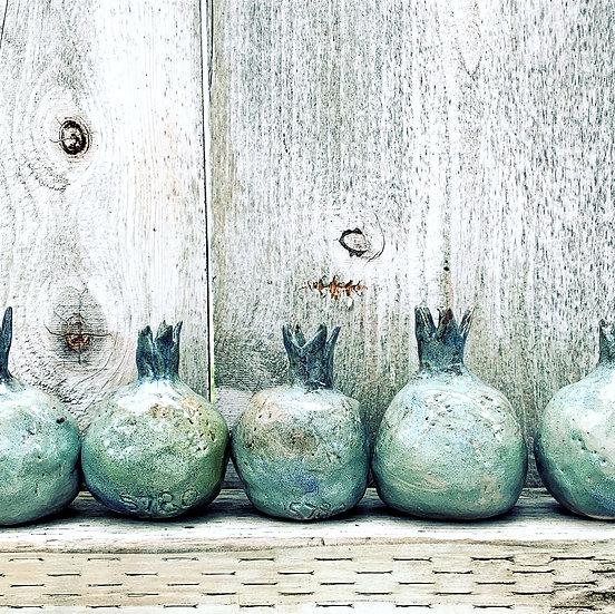 """Pomegranates"" mini sculptures"