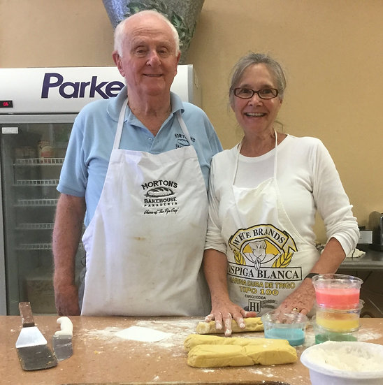 Celebrating our 42nd anniversary at the bakery!