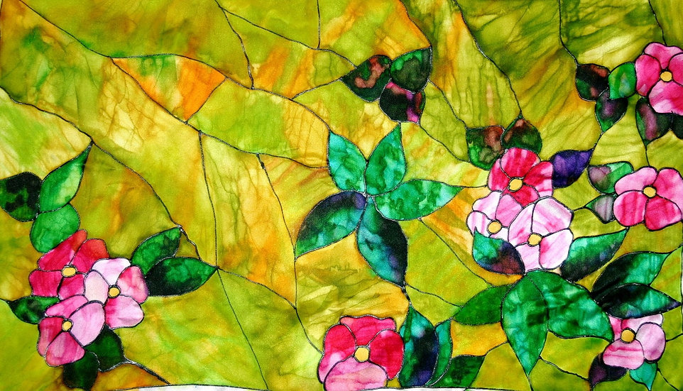 """McKinstry Window"" silk"