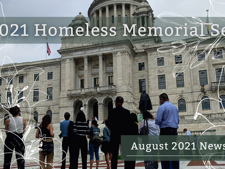 August '21 Newsletter: In Memoriam