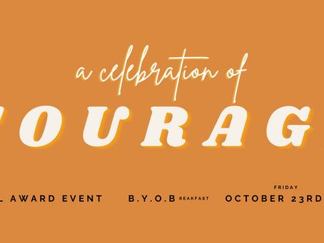 October '20 Newsletter: Courage Awards