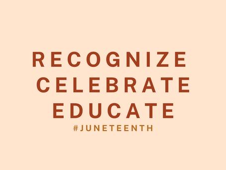June '20 Newsletter: Juneteenth