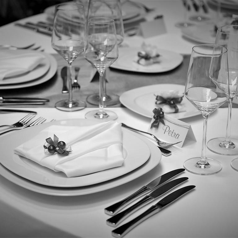 High Protocol Black Tie Dinner Service