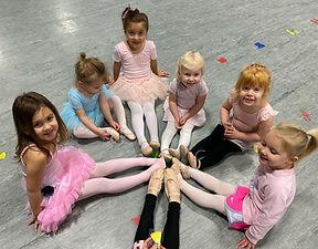 Ballet Dancers at  Deborah's Stage Door
