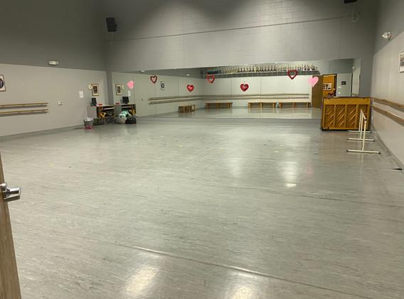 Dance Room 1 Deborah's Stage Door
