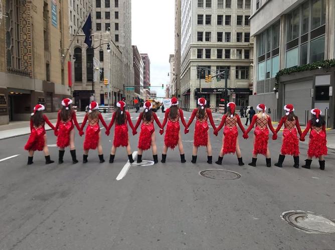 Parade Company Preview dancers  Deborah's Stage Door