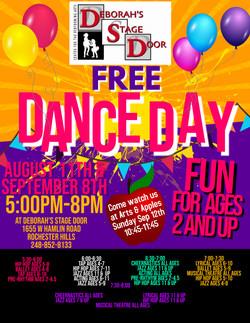 Free Dance Day