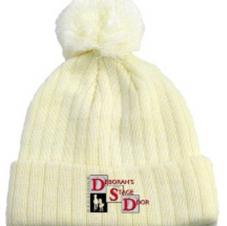 Cream DSD Beanie $20