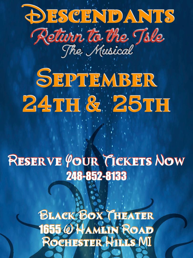 Return to the Isle Show at  Deborah's Stage Door