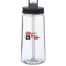Plastic 22oz Water Bottle $12