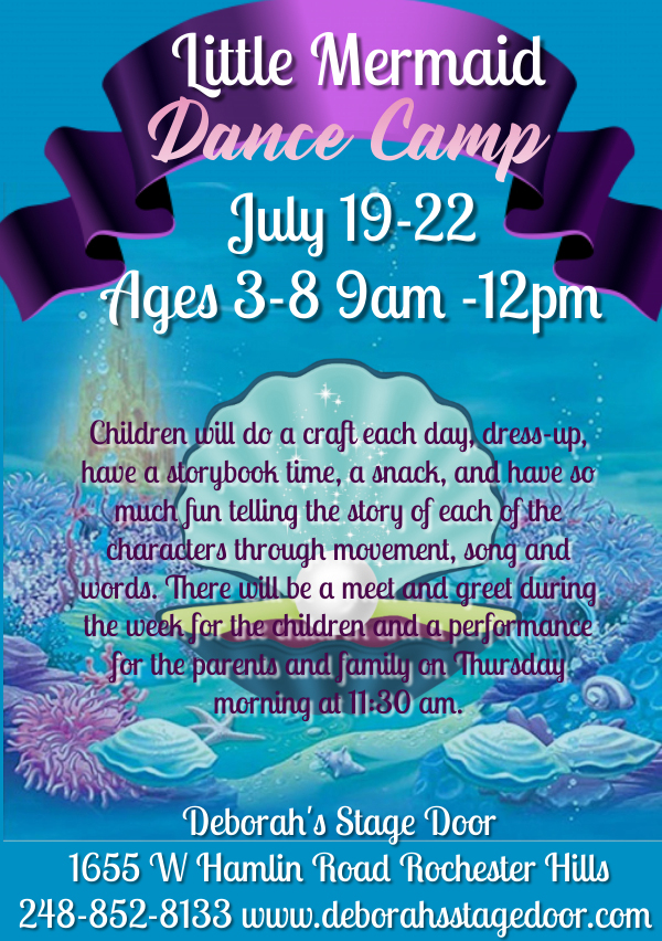 Little Mermaid Dance Camp