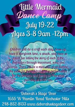 Little Mermaid Dance Camp