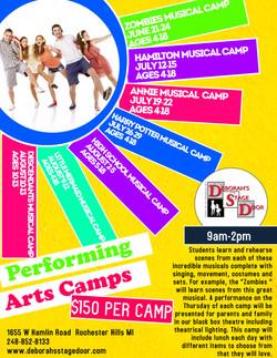 Performing Arts Camps