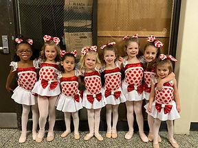 PreSchool Dancers at Deborah's Stage Door