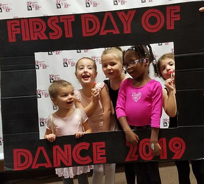 Preschool dancers at Deborah's Stage Door
