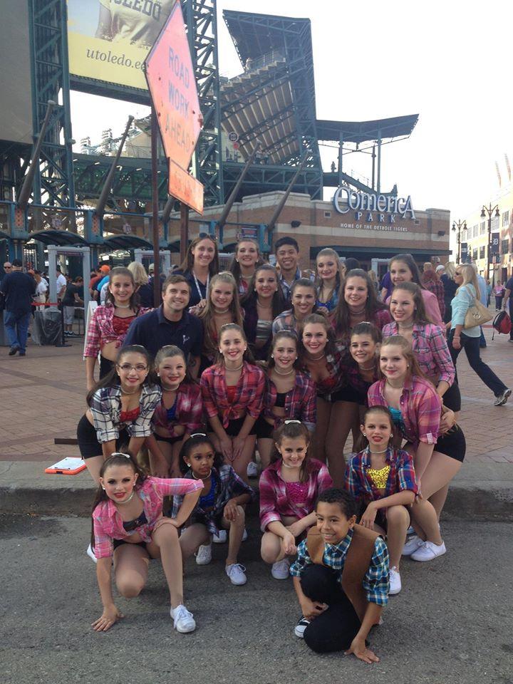 Detroit Tigers Comerica Park  Deborah's Stage Door Dancers
