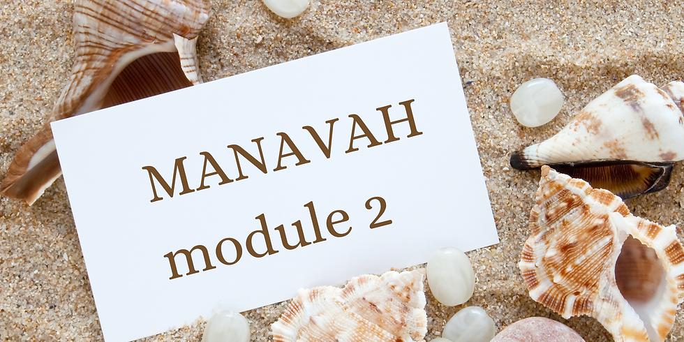 Cours MANAVAH : module 2