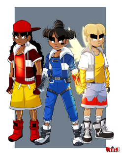 Iris and her crew final