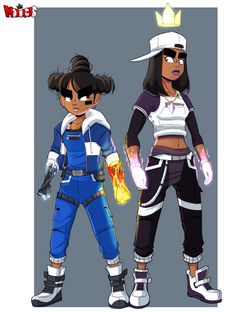 Iris and Ethera