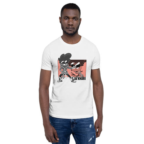 Ja'Khari Short-Sleeve Unisex T-Shirt (White)